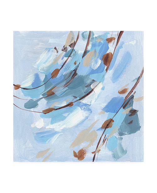 "Trademark Global Melissa Wang Restless Wave IV Canvas Art - 36.5"" x 48"""