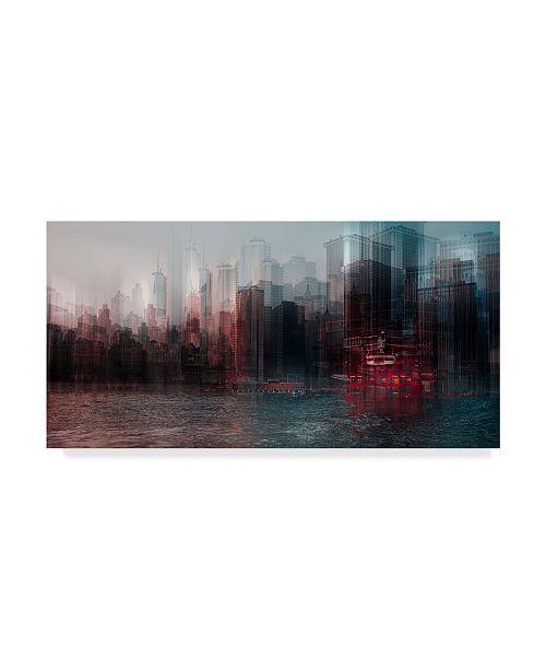 "Trademark Global Carmine Chiriaco On the Hudson River Canvas Art - 20"" x 25"""