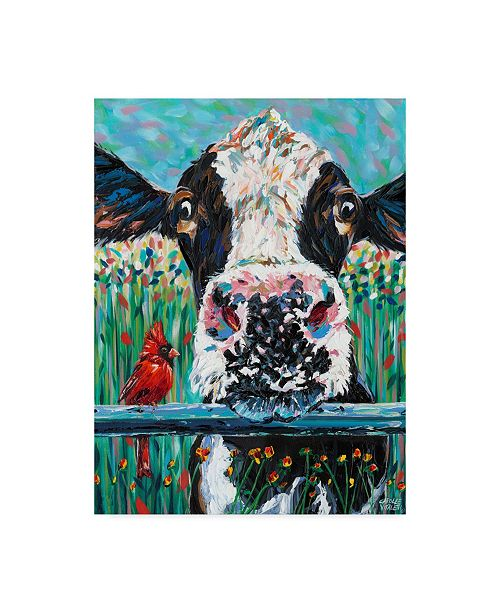 "Trademark Global Carolee Vitaletti Farm Buddies I Canvas Art - 15"" x 20"""