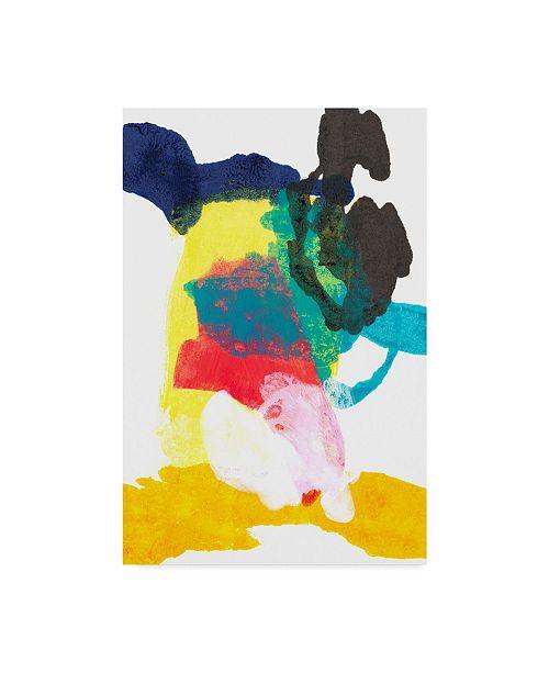 "Trademark Global Jodi Fuchs Paint Bloom II Canvas Art - 15"" x 20"""