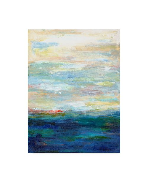"Trademark Global Edie Fagan Solitude on the Water I Canvas Art - 15"" x 20"""