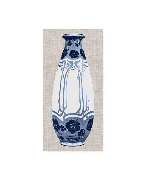 "Trademark Global Unknown Blue & White Vase II Canvas Art - 15"" x 20"""