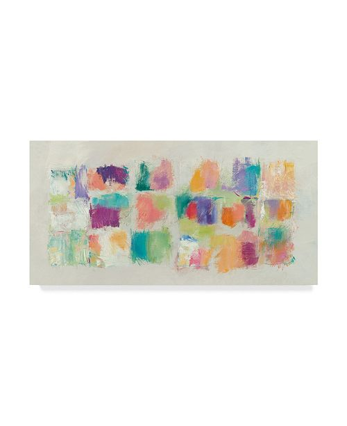 "Trademark Global Mike Schick Popsicles Horizontal Canvas Art - 20"" x 25"""