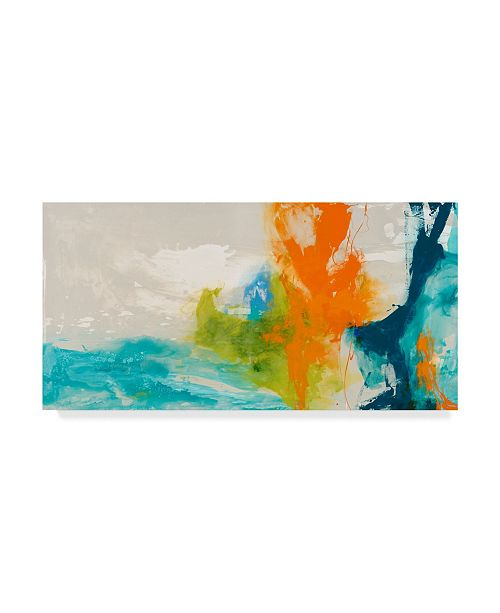 "Trademark Global Sisa Jasper Tidal Abstract I Canvas Art - 15"" x 20"""