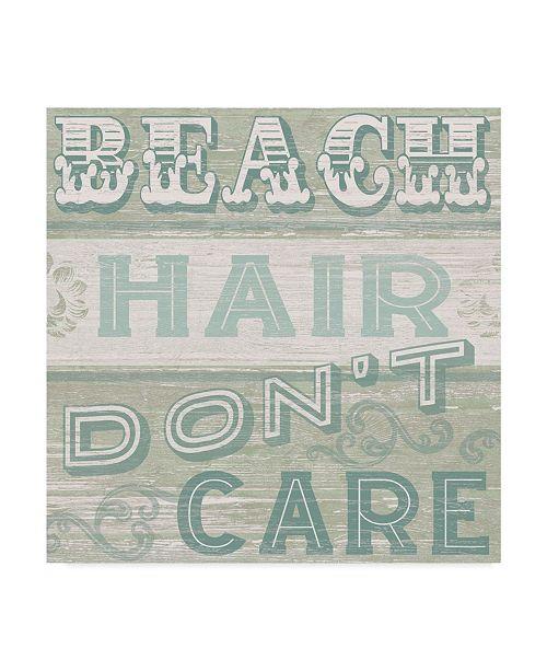 """Trademark Global June Erica Vess A Little Beachy I Canvas Art - 20"""" x 25"""""""