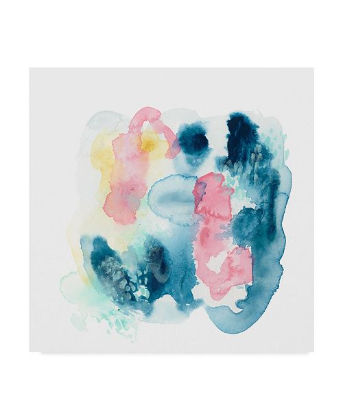 "Trademark Global June Erica Vess Intrigue III Canvas Art - 15"" x 20"""