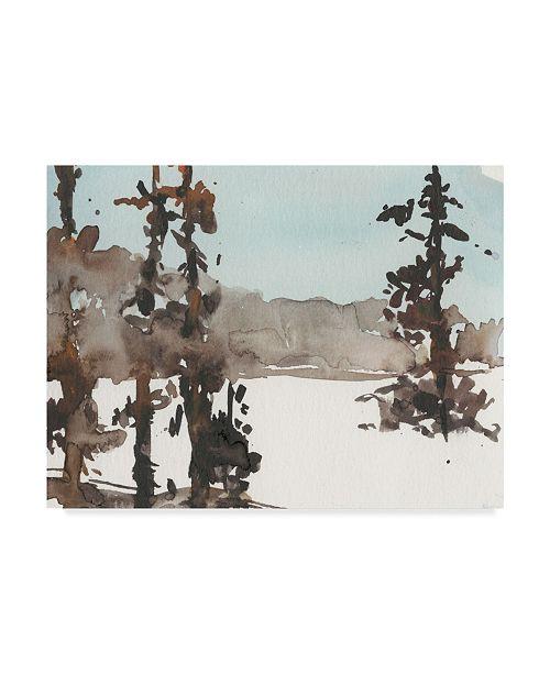 "Trademark Global Samuel Dixon Woodland Sketch III Canvas Art - 20"" x 25"""