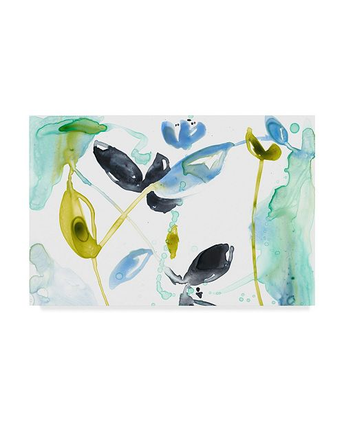"""Trademark Global Jennifer Goldberger Hanging Garden I Canvas Art - 15"""" x 20"""""""