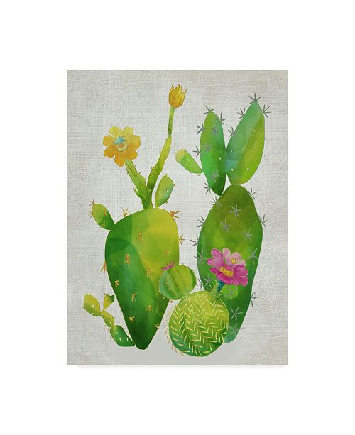"Trademark Global Chariklia Zarris Cacti Collection II Canvas Art - 20"" x 25"""