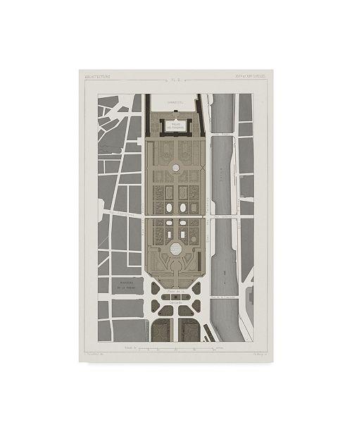 "Trademark Global Vision Studio Palais Des Tuileries, Paris I Canvas Art - 20"" x 25"""