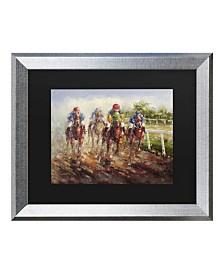 """Masters Fine Art Kentucky Derby Matted Framed Art - 20"""" x 25"""""""