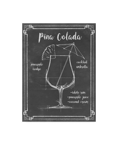 "Trademark Global Ethan Harper Mixology IV Canvas Art - 20"" x 25"""