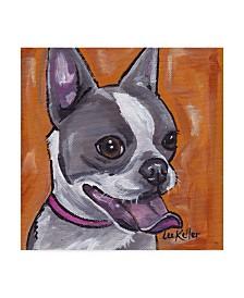 """Hippie Hound Studios Frenchie Canvas Art - 27"""" x 33"""""""