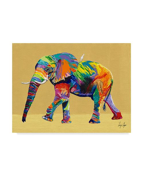 "Trademark Global Linzi Lynn E the Ride Canvas Art - 20"" x 25"""