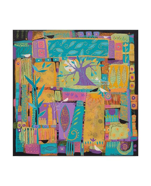 "Trademark Global Sue Davis Tell Me a Story Canvas Art - 27"" x 33"""