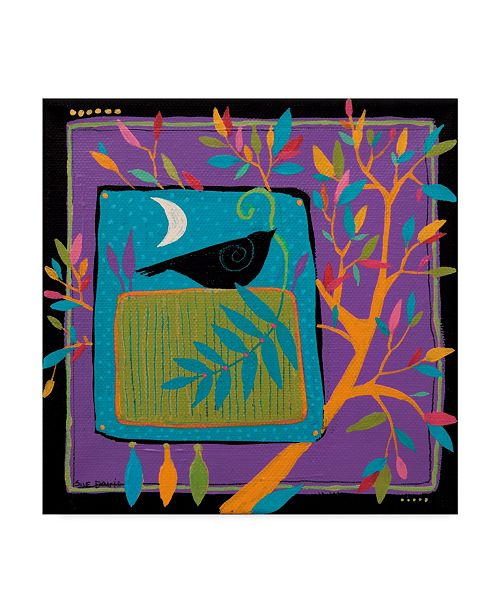 "Trademark Global Sue Davis Bird and Branch Canvas Art - 15"" x 20"""