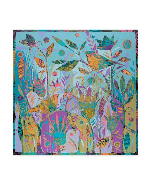 "Trademark Global Sue Davis Sing Your Song Canvas Art - 15"" x 20"""