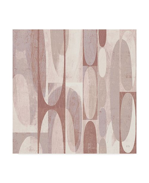 "Trademark Global Michael Mullan Mod Pods Blush Canvas Art - 15"" x 20"""
