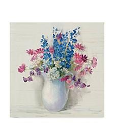 "Carol Rowan Ironstone Bouquet Ii Bright Canvas Art - 27"" x 33"""