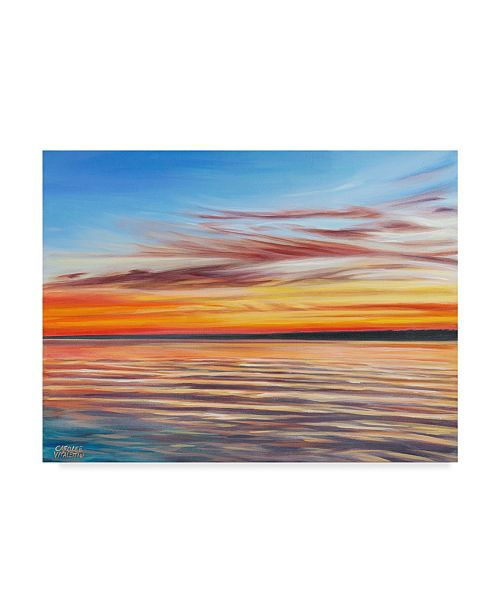"Trademark Global Carolee Vitaletti Tranquil Sky I Canvas Art - 15"" x 20"""