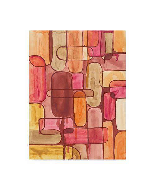 "Trademark Global Regina Moore Mod Sunset I Canvas Art - 15"" x 20"""