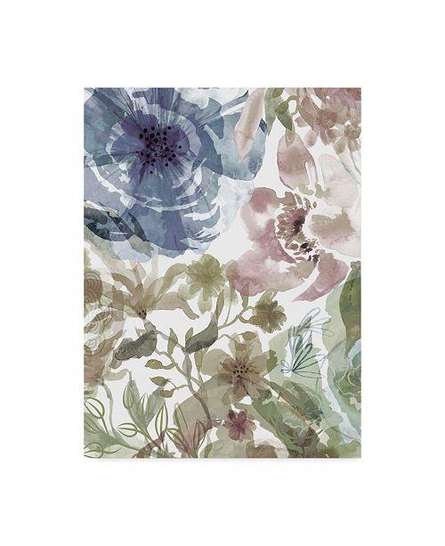 """Trademark Global Delores Naskrent Bouquet of Dreams III Canvas Art - 20"""" x 25"""""""