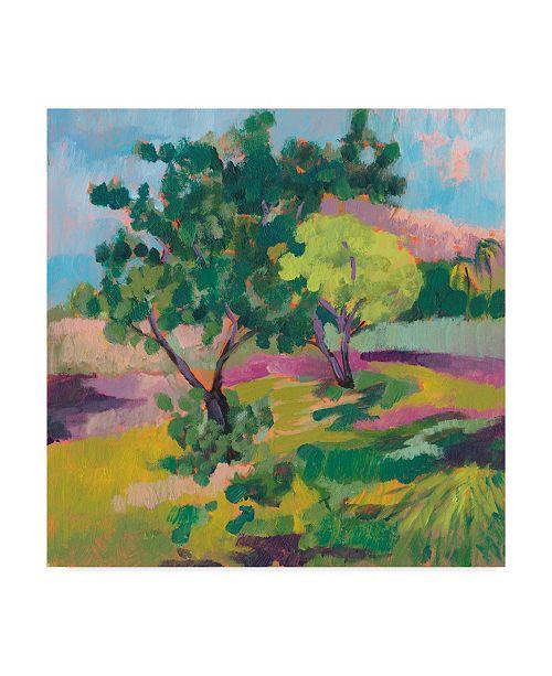"""Trademark Global Jennifer Goldberger Ode to Gauguin II Canvas Art - 15"""" x 20"""""""
