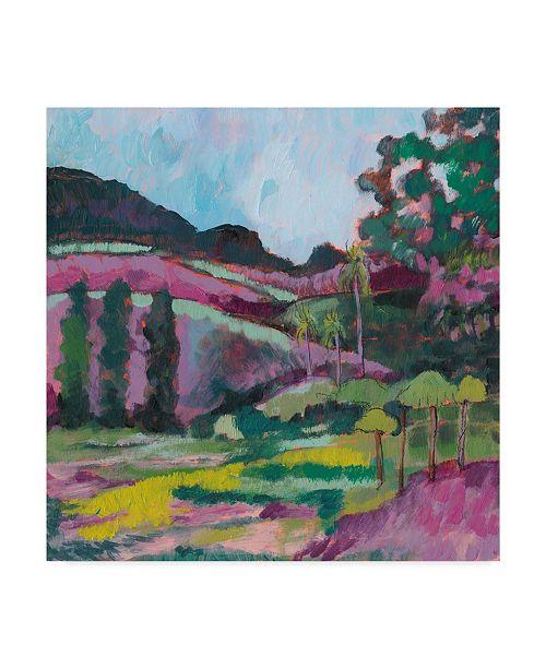 """Trademark Global Jennifer Goldberger Ode to Gauguin IV Canvas Art - 20"""" x 25"""""""