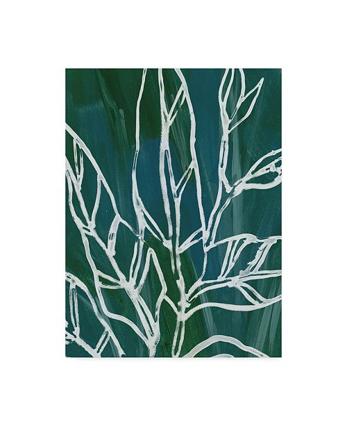 "Trademark Global June Erica Vess Jungle Batik IV Canvas Art - 15"" x 20"""