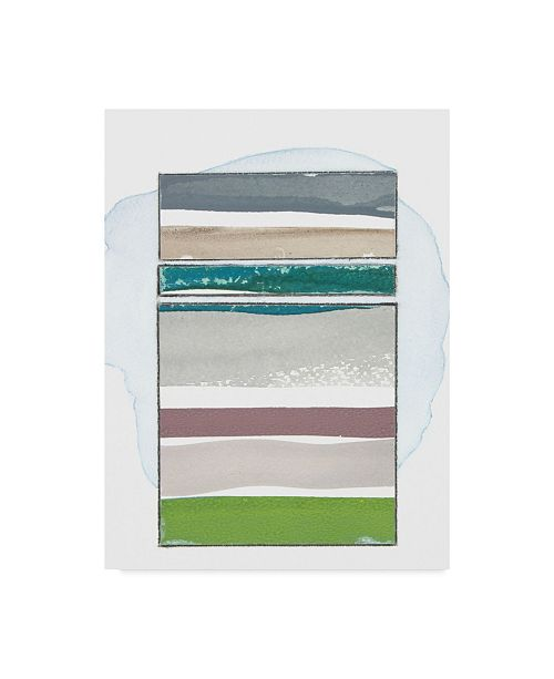 "Trademark Global Rob Delamater Pacific Horizon II Canvas Art - 15"" x 20"""