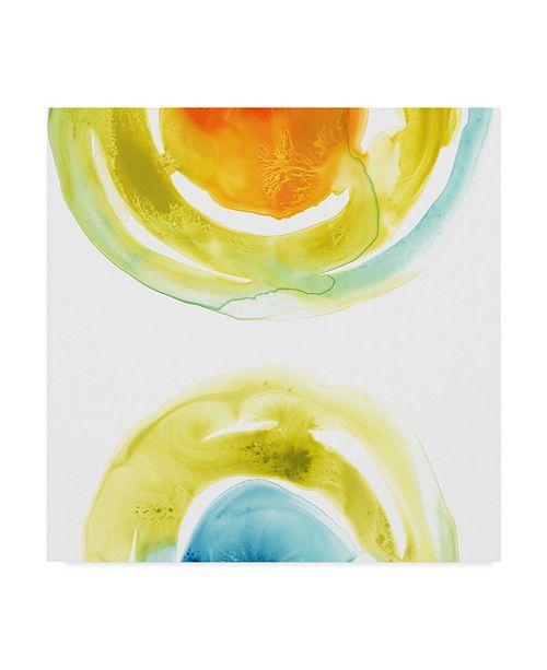 "Trademark Global June Erica Vess Prisma Circuit I Canvas Art - 27"" x 33"""