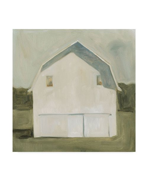 "Trademark Global Emma Scarvey Serene Barn VI Canvas Art - 27"" x 33"""