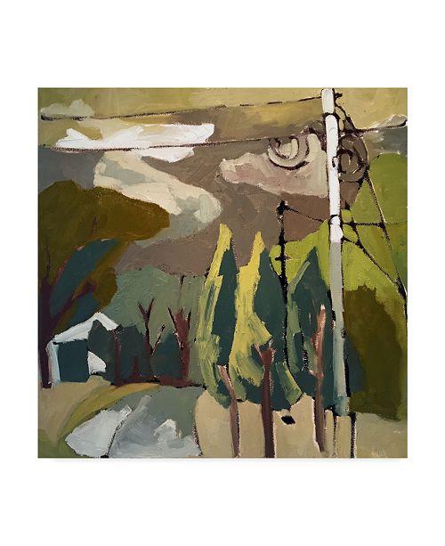 "Trademark Global Erin Mcgee Ferrell Trees & Wires IX Canvas Art - 27"" x 33"""