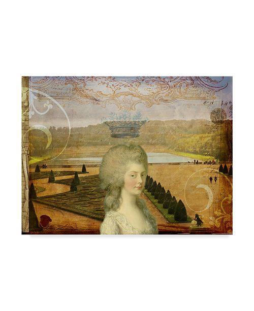 "Trademark Global Sandy Lloyd Femme Paris XIII Canvas Art - 20"" x 25"""