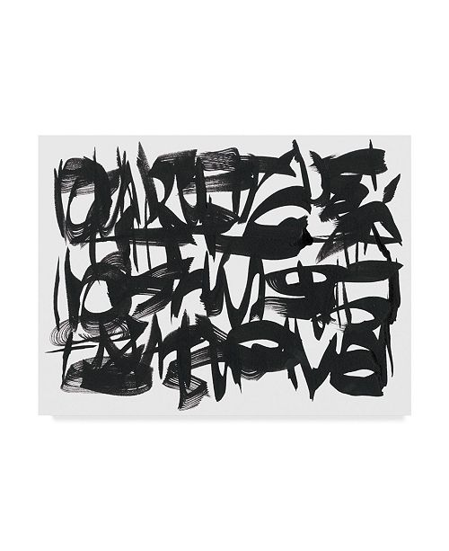 """Trademark Global Renee W. Stramel The Collective Unconsciousness II Canvas Art - 37"""" x 49"""""""