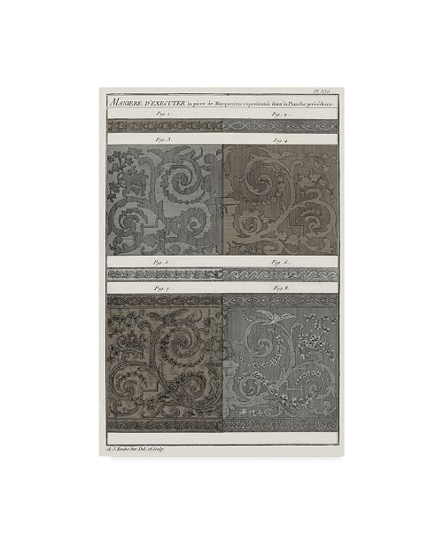 "Trademark Global Vision Studio Survey of Architectural Design V Canvas Art - 37"" x 49"""