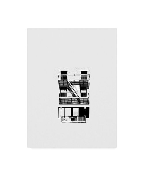 """Trademark Global Jeff Pica NYC in Pure B&W V Canvas Art - 37"""" x 49"""""""