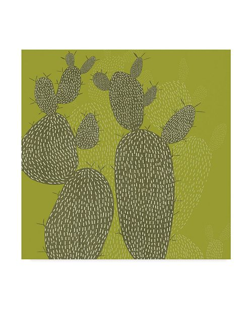 "Trademark Global Chariklia Zarris Opuntia I Canvas Art - 15"" x 20"""
