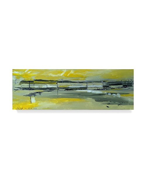 "Trademark Global Erin Mcgee Ferrell Martins Dock I Canvas Art - 20"" x 25"""