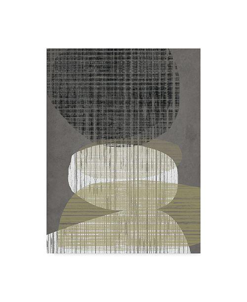 "Trademark Global Jennifer Goldberger Resting Shapes IV Canvas Art - 20"" x 25"""