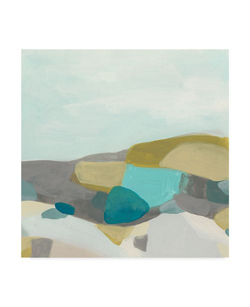 "Trademark Global June Erica Vess Fieldscape Vista I Canvas Art - 27"" x 33"""