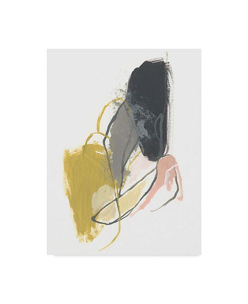 "Trademark Global June Erica Vess Seismic Breakdown I Canvas Art - 37"" x 49"""