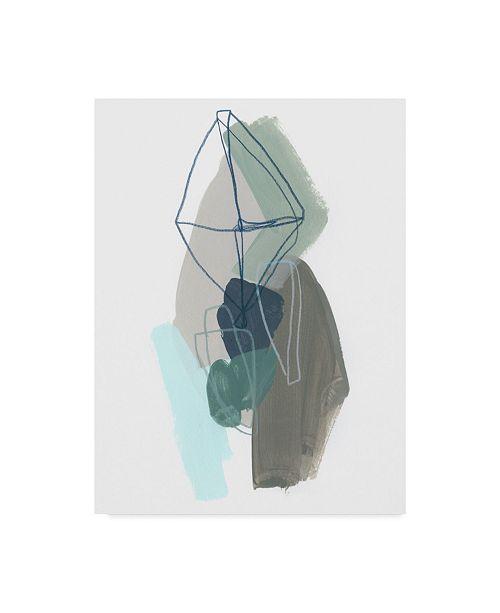 "Trademark Global June Erica Vess Coda V Canvas Art - 20"" x 25"""
