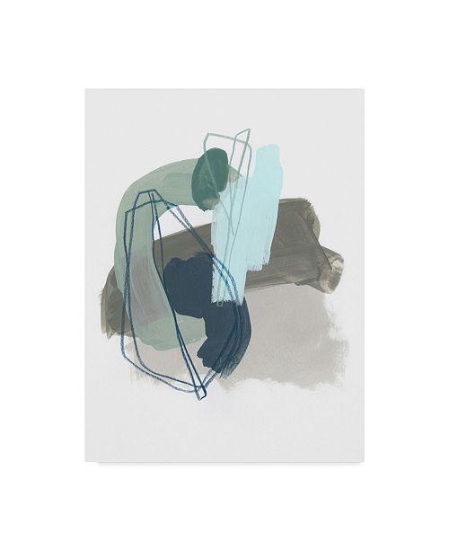 "Trademark Global June Erica Vess Coda IX Canvas Art - 37"" x 49"""