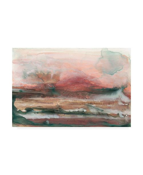 "Trademark Global Renee W. Stramel Lost Horizon I Canvas Art - 37"" x 49"""