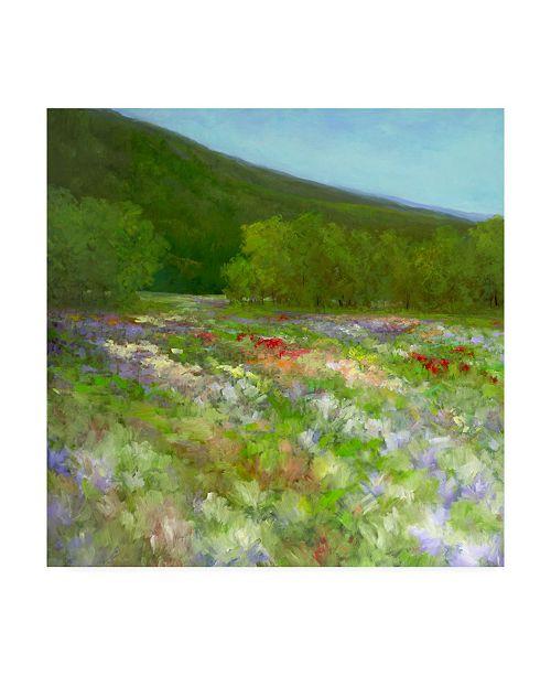 "Trademark Global Sheila Finch Flowers of Half Moon Bay II Canvas Art - 15"" x 20"""