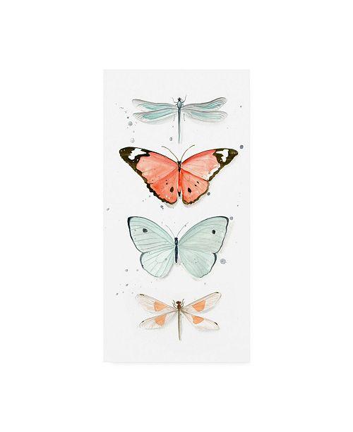 """Trademark Global Jennifer Paxton Parker Summer Butterflies I Canvas Art - 37"""" x 49"""""""