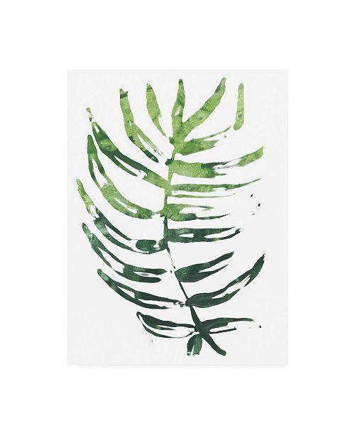 """Trademark Global June Erica Vess Emerald Tropics IV Canvas Art - 20"""" x 25"""""""