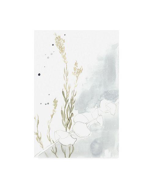 "Trademark Global Jennifer Goldberger Wildflower Triptych II Canvas Art - 20"" x 25"""