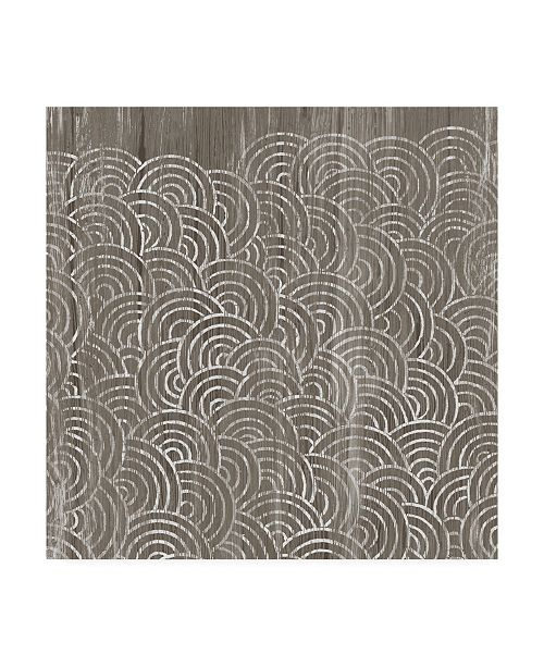 "Trademark Global June Erica Vess Weathered Wood Patterns I Canvas Art - 15"" x 20"""
